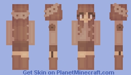 Fem Feb ~ 13 ~ Flowers Minecraft Skin