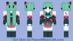 Hatsune Miku - China Dress Minecraft Skin