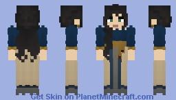 𝔹𝕝𝕦𝕖 𝔸𝕝𝕖𝕩𝕒𝕟𝕕𝕣𝕚𝕒 || 𝕃𝕆𝕋ℂ Minecraft Skin