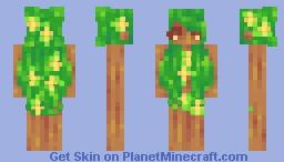 𝙻𝚎𝚊𝚟𝚎𝚜 ~ 𝙵𝚎𝚖 𝙵𝚎𝚋 𝙳𝚊𝚢 𝟷𝟻 Minecraft Skin