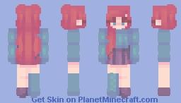 Coral Minecraft Skin