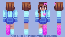 digital hearts Minecraft Skin