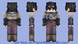 Yuno | Black Clover Minecraft Skin
