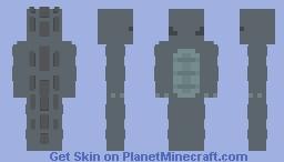 """Cute"" godzilla from GvK (NO ATOMIC CHARGE) Minecraft Skin"