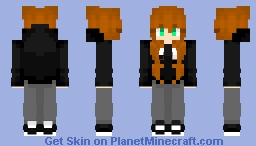 Red Head Girl w/ a Hoodie? Minecraft Skin