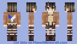 Eren Jaeger - Attack on Titan Minecraft Skin