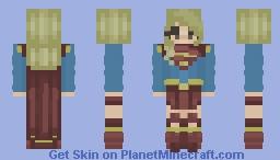 Female hero ~ Fem Feb day 12 Minecraft Skin