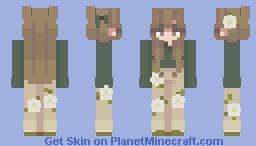 garden girl Minecraft Skin