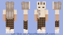 Mask ~ Fem Feb day 16 Minecraft Skin