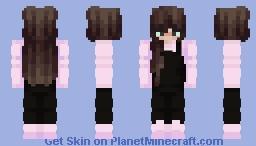 Dungarees Egirl Minecraft Skin