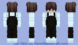 Dungarees Eboy Minecraft Skin
