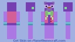 Blacklight ProtoFritz Plushie Minecraft Skin