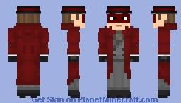 Crimson Avenger | DC Comics Minecraft Skin