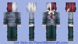 Shoto Todoroki | My Hero Academia Minecraft Skin