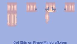 caramel-blonde hair base Minecraft Skin
