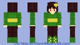 Chara (Undertale) for request Herobrine_2143 Minecraft Skin
