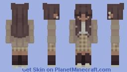 𝙰𝚎𝚜𝚝𝚑𝚎𝚝𝚒𝚌 ~ 𝙵𝚎𝚖 𝙵𝚎𝚋 𝙳𝚊𝚢 𝟸𝟸 Minecraft Skin