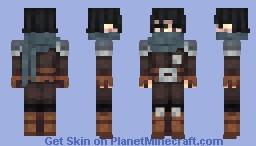 Cayrod, The Mysterious Adventurer Minecraft Skin