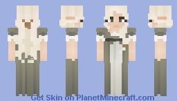 [LOTC] 𝓟𝓻𝓮𝓽𝓽𝔂 𝓲𝓷 𝓰𝓻𝓮𝓮𝓷. Minecraft Skin