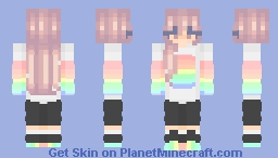 Proud ~ Fem Feb day 23 Minecraft Skin