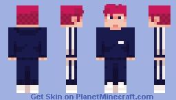 track suit guy Minecraft Skin