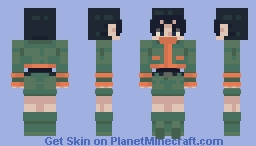 Gon freecss but normal colors Minecraft Skin