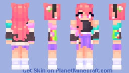 city of color Minecraft Skin