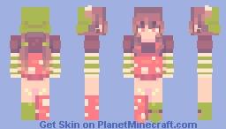 lush forests Minecraft Skin