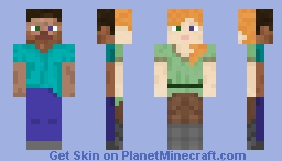 The New Humanity Minecraft Skin