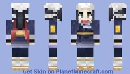 Pokemon Legends - Arceus: Akari Minecraft Skin