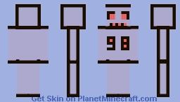 Undertale - Unused 98 Robot Minecraft Skin