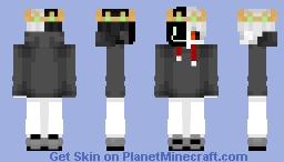 """I'm just you..."" (Ranboo - DreamSMP Skin) Minecraft Skin"