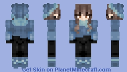 Snow Trek -Female Version Minecraft Skin