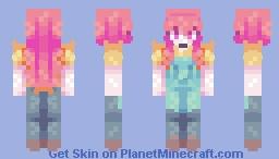 + Nao Egokoro + Minecraft Skin