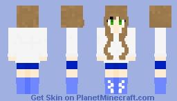 -~- Schoolgirl -~- Minecraft Skin