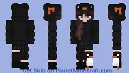 Penguin Egirl Minecraft Skin