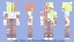 Dazed and Confused ~ RCE Minecraft Skin