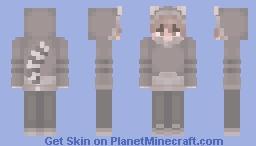 🦝 Raccoon Boy ⭐ Minecraft Skin