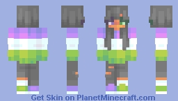 i'm running out of titles Minecraft Skin