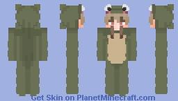 Frog boy Minecraft Skin