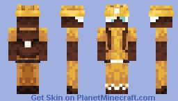 A Very Buzzy Spelunker Minecraft Skin