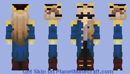 captain puffy! Minecraft Skin