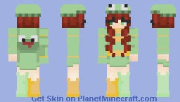 St. Patrick's Day // contest Entry Minecraft Skin