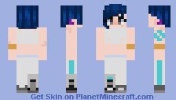 russian sci fi girl Minecraft Skin
