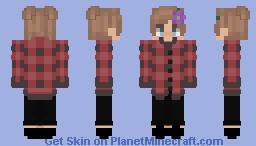 I made my Discord pfp into a skin :3 Minecraft Skin