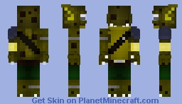Imp of the Abyss Minecraft Skin