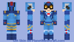 One Beetle Army Corps | DC Comics Minecraft Skin