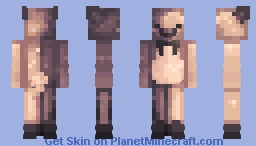 galaxy bear Minecraft Skin