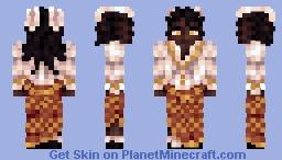 Rabbit girl Minecraft Skin