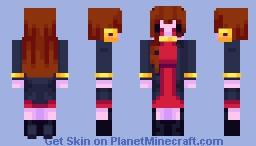 Friday Night Funkin // Mommy Must Murder (Mom) Minecraft Skin
